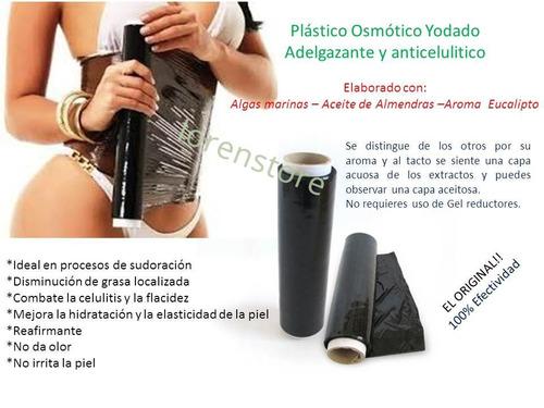papel osmotico, plastico reductor extractos nat. 20 posturas