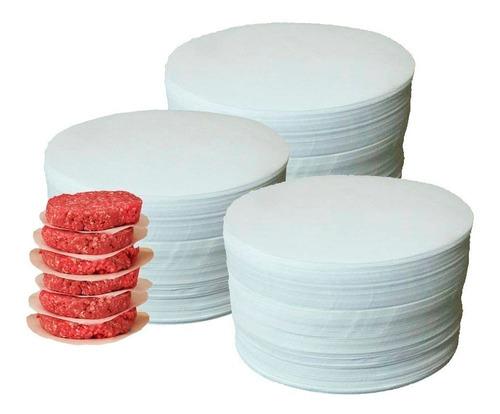 papel p/ hambúrguer redondo 112mm 3kg (parafinado) 3600 uni