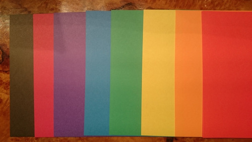 papel p/ origami, doble faz (72 hojas) - importado de japon