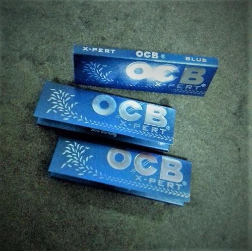 papel para armar // ocb // x-pert blue //  70 mm