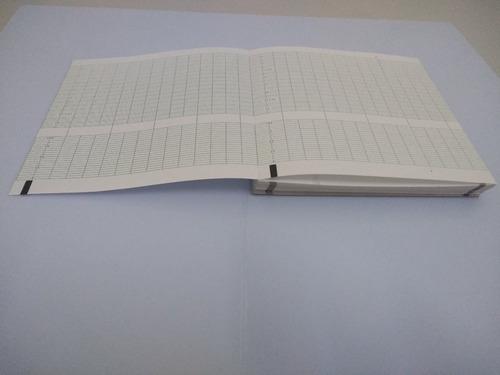 papel para cardiotocógrafo - toitu mt-325 152x150 150 folhas