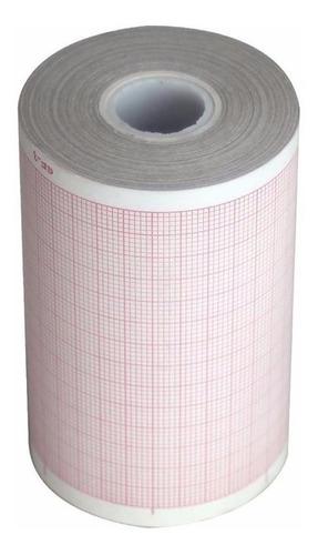 papel para electrocardiógrafo 80 x 20, paquete x 10 u.