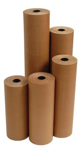 papel para envoltura kraft rollo 90 cm x 200 mts cal 120 gr