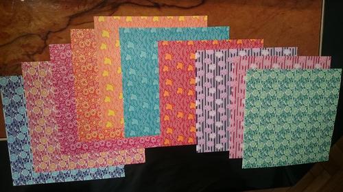 papel para origami (110 hojas) - importado de japon