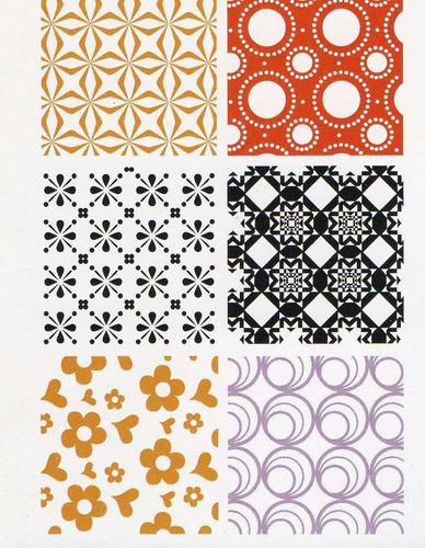 papel para origami 15x15 cm - varios motivos - pack 6 hojas