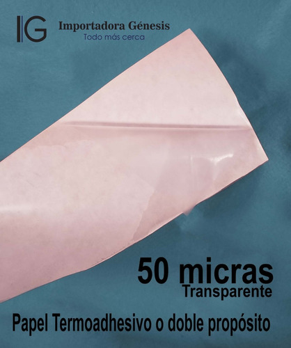 papel para parches papel termoadhesivo 50 micras