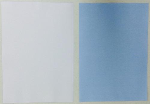papel para sublimação a4 fundo azul 200 unids havir 110g