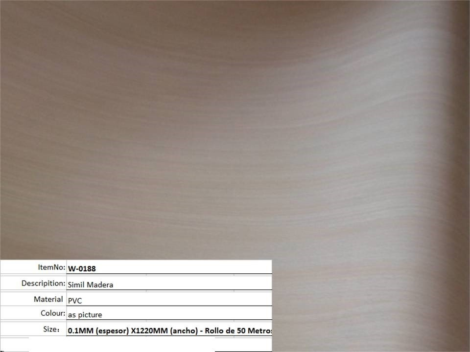 Papel pared adhesivo pvc empapelar madera188 precio for Precio papel pared