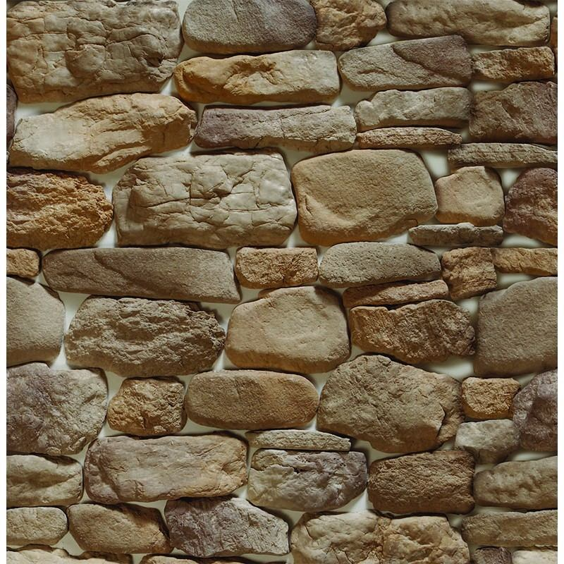 Papel parede 3d pedra rustica sala vin lico adesivo r for Papel pintado para paredes 3d