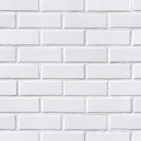 14faae5e9 Papel De Parede Tijolo Branco 3d Revestimento - Pisos