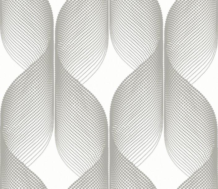 Papel parede abstrato cinza branco vinilico rovski cd 8401 - Papel vinilico para paredes ...