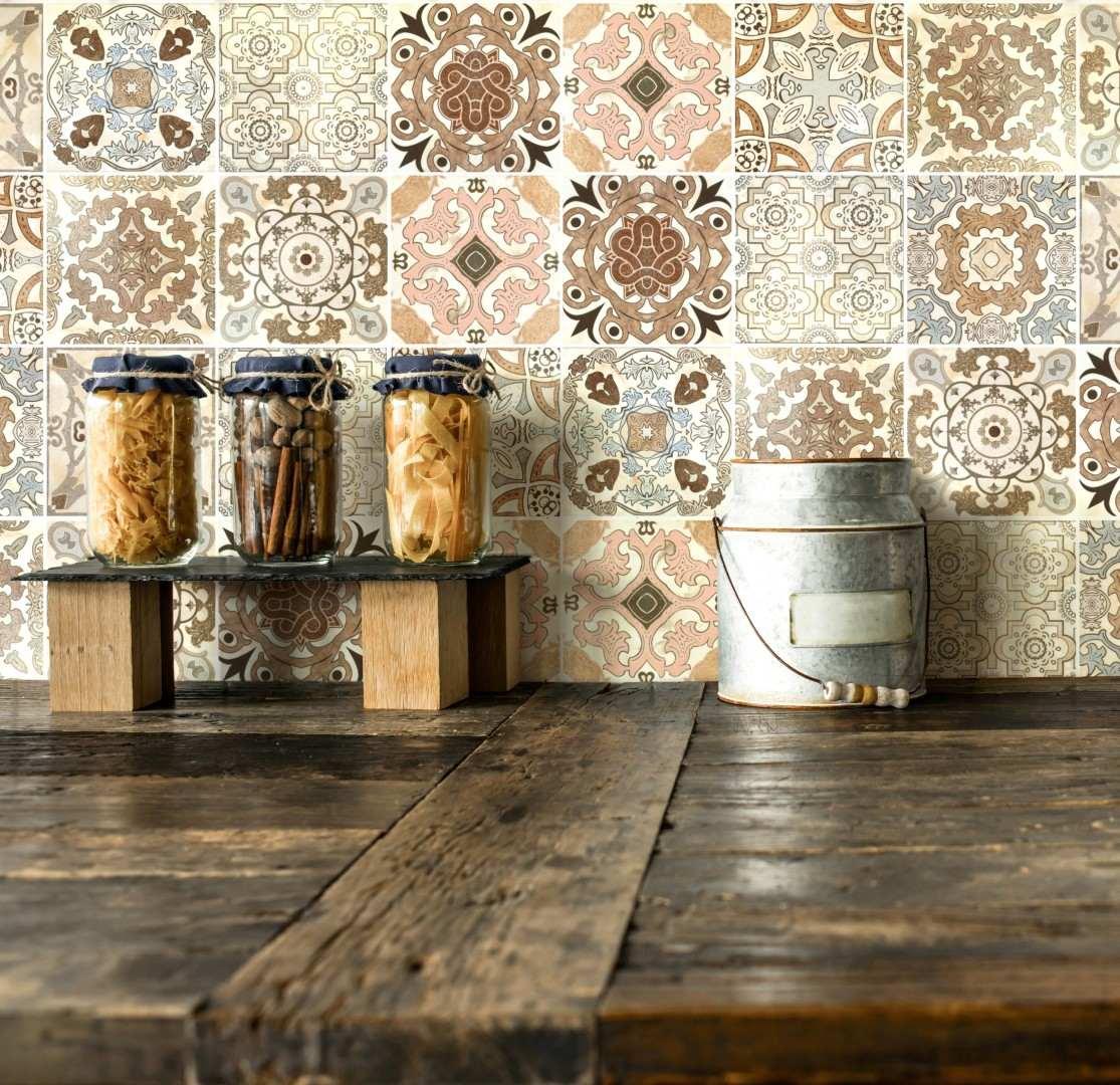 Papel parede adesivo azulejo portugues cozinha banheiro for Azulejo para pared de sala