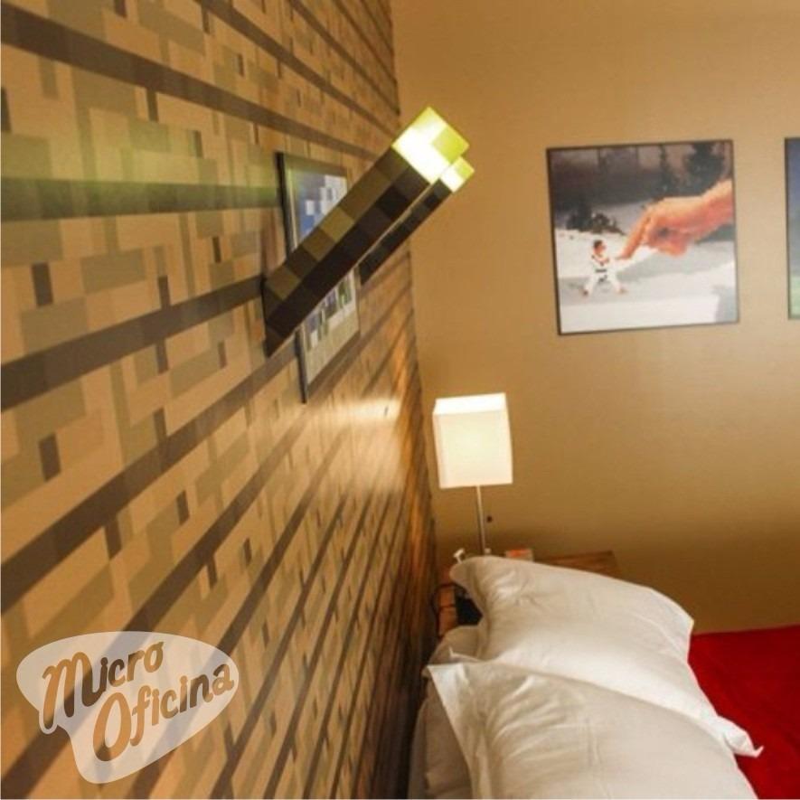 Papel parede adesivo decorativo minecraft lan amento for Papel para paredes salon