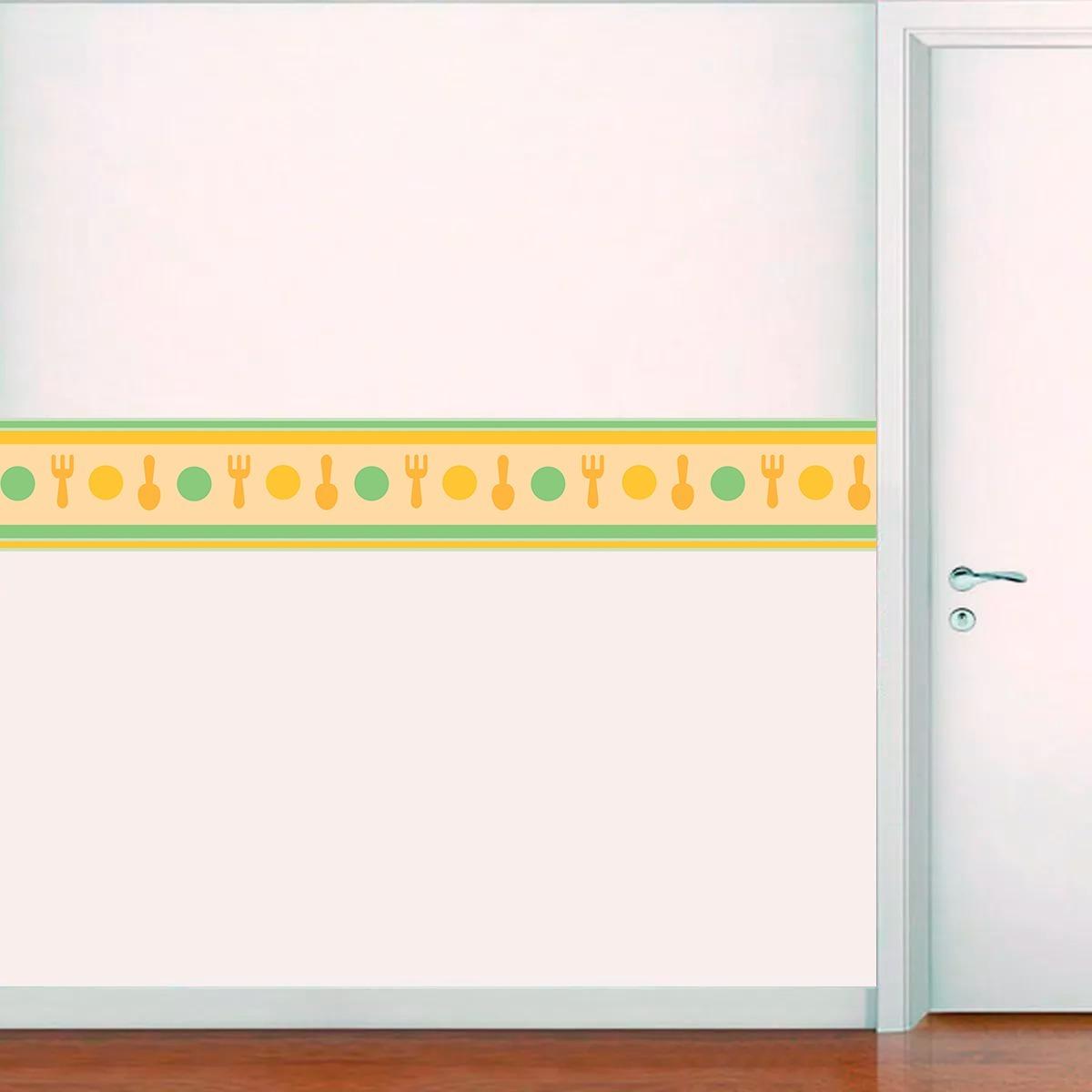 367736e15 papel parede adesivo faixa decorativa cozinha infantil. Carregando zoom.