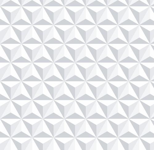 papel parede branco aspecto 3d geométrico adesivo contact