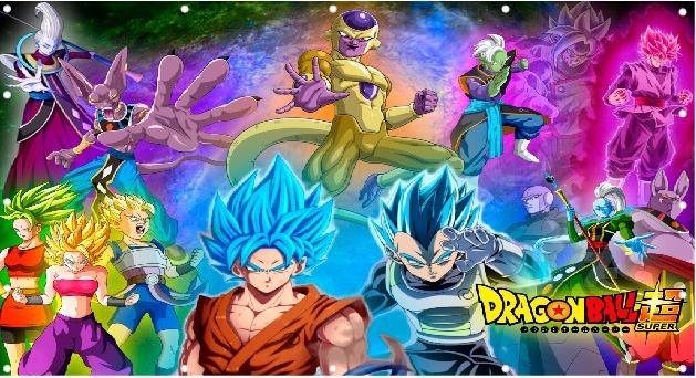 Papel Parede Dragon Ball Super Sayajin 2x1m
