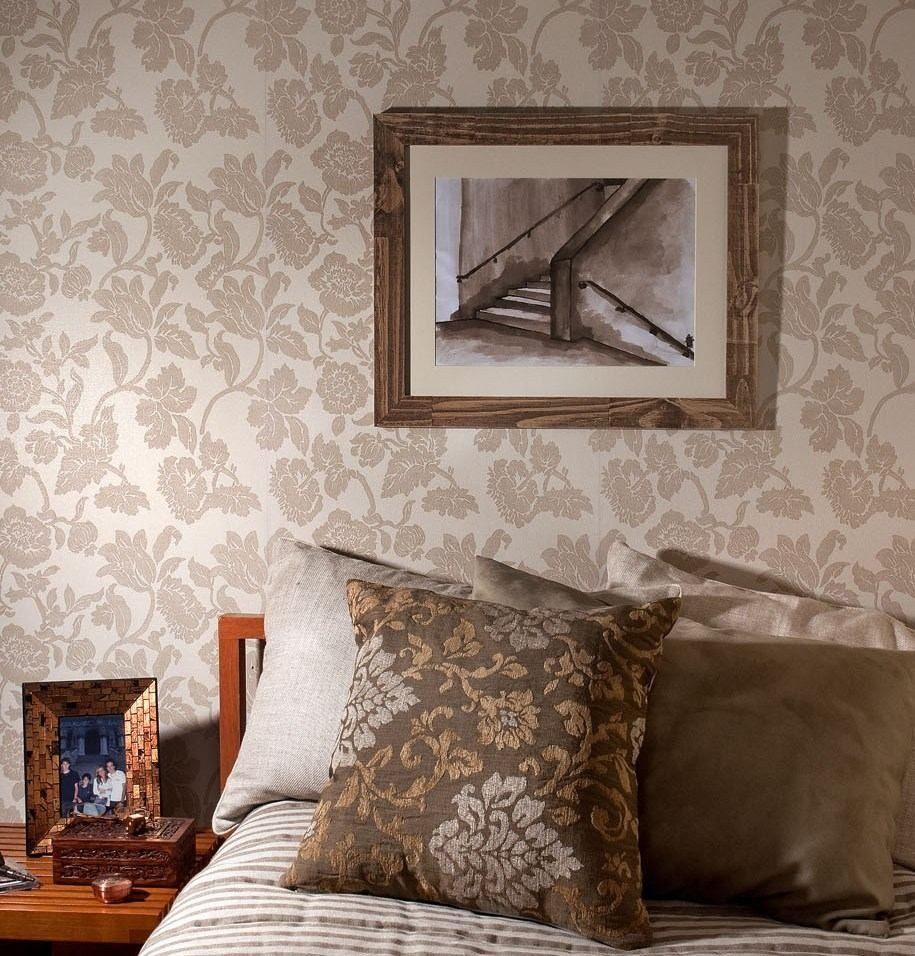 Papel parede harmonia vin lico bobinex sala casa cola - Papel vinilico para paredes ...
