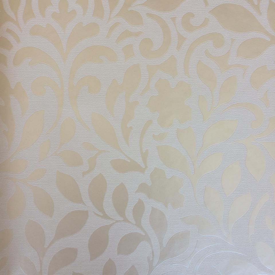 Papel parede kantai space arabesco palha tom sobre tom meta r 163 90 em mercado livre - Papel vinilico para paredes ...