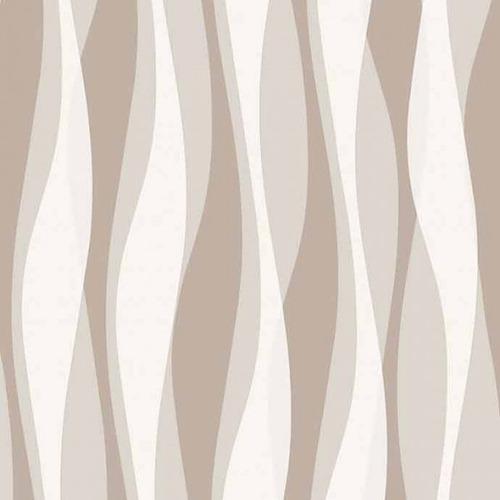 papel parede listras 3d bege marrom claro bobinex original