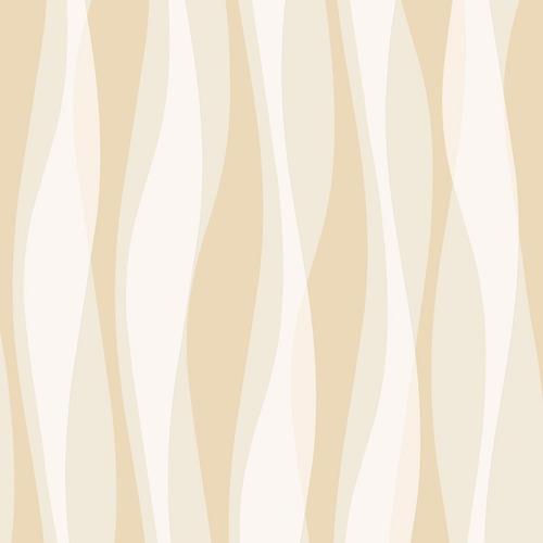 papel parede listras 3d bege nude ondulado bobinex original