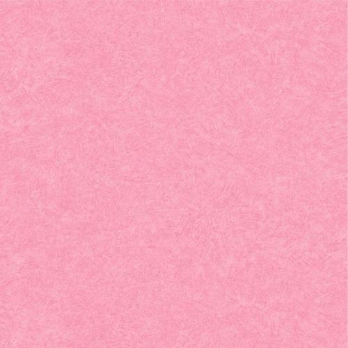 Papel parede muresco nido infantil vinilico rosa liso r for Papel decomural muresco
