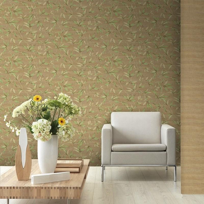 Papel de parede para sala papel importado casabella - Papel para revestir paredes ...