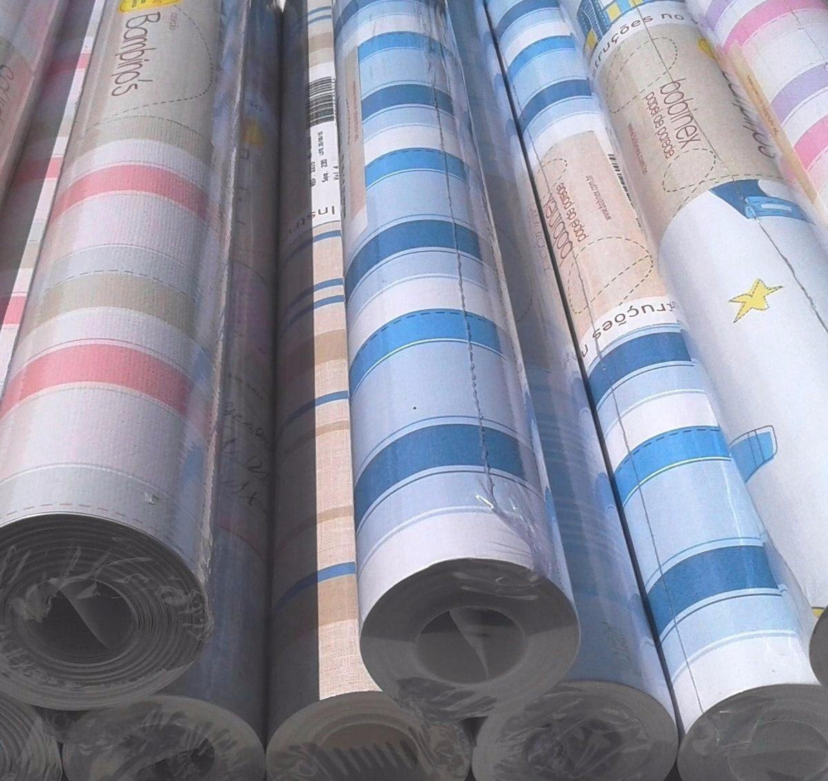 Papel de parede bambinos quarto infantil bobinex beb 3303 - Papel para paredes baratos ...