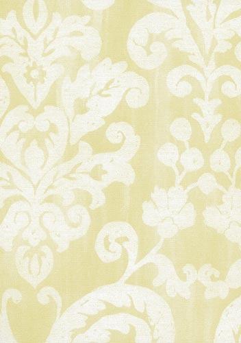papel parede saldão bobinex classique arabesco amarelo
