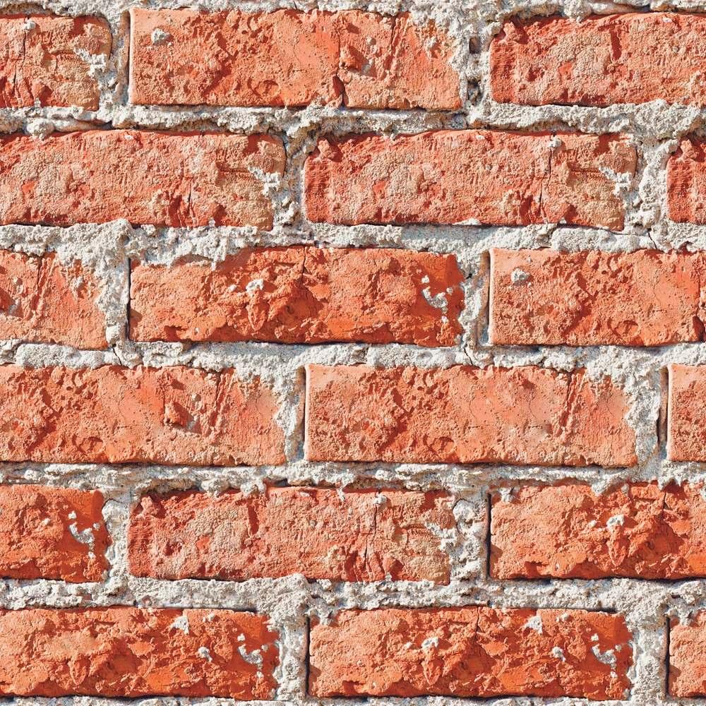 be6929abd papel parede tijolo a vista tijolinho rústico kit 6 rolos 3m. Carregando  zoom.