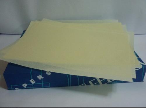 papel pergamino italiano base 230gr 50x35 y 33x48cm