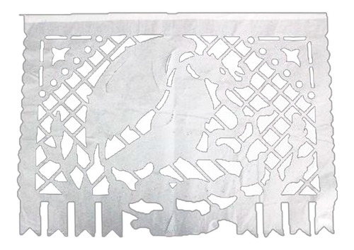 papel picado enramada de plástico fiestas patrias