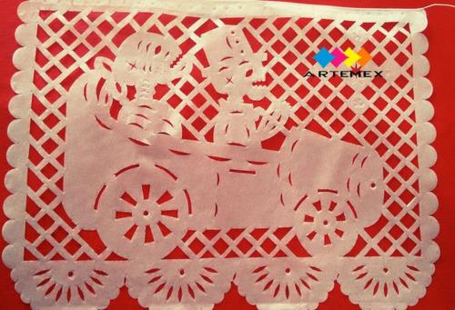 papel picado / tira para boda diseños personalizados