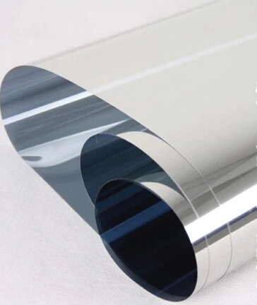 papel polarizado espejado cromo silver 15% auto casa karvas