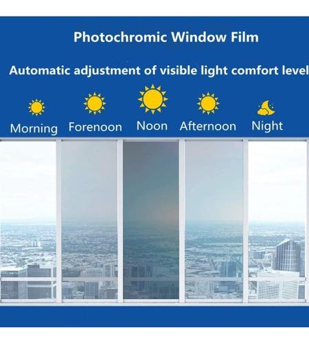 papel polarizado transition foto camaleon osurece segun luz