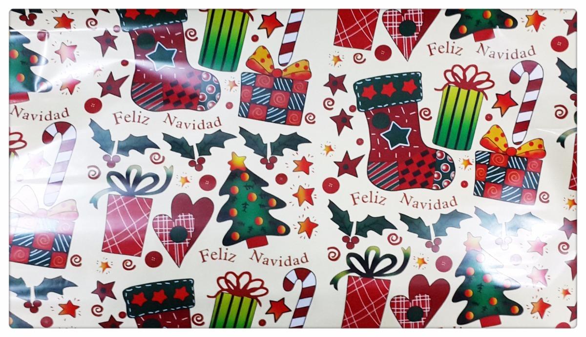 Papel regalo o para puerta metalizado de navidad - Papel para puertas ...