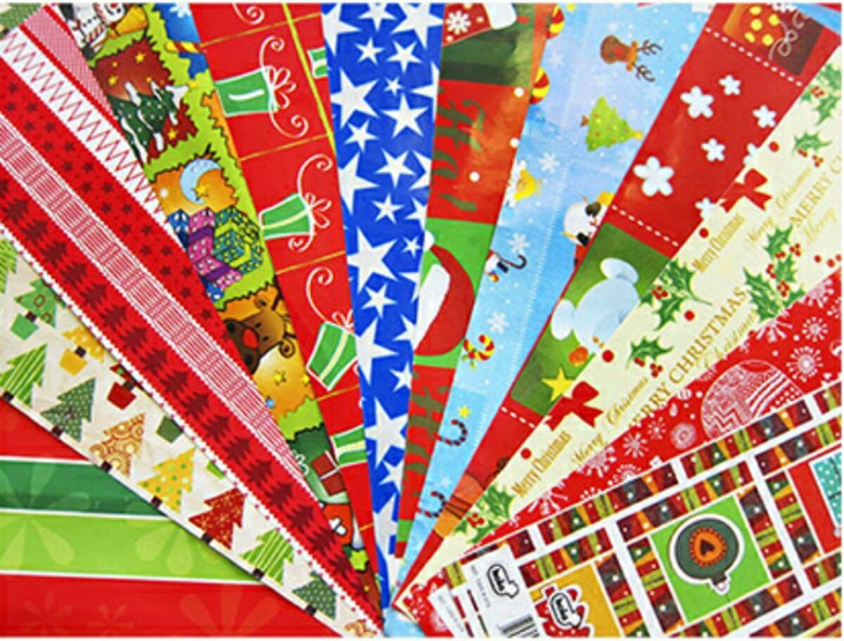 Papel de regalo navidad amazing bobina de papel de regalo - Papel de regalo navidad ...
