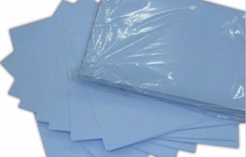 papel resinado p/ sublimação 500 folhas a3 fundo azul havir