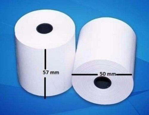 papel rollo termico 57 x 50 mm