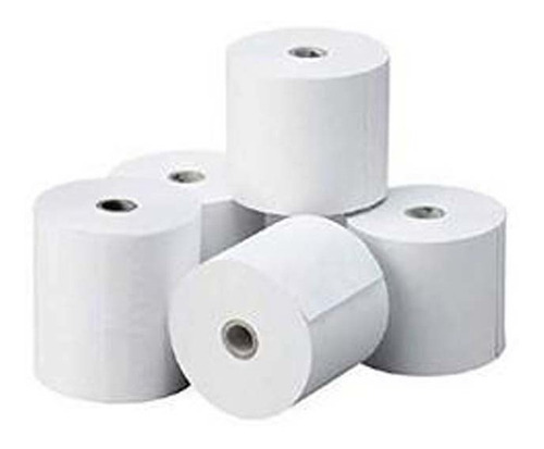 papel rollo termico 80mm x 60 mts