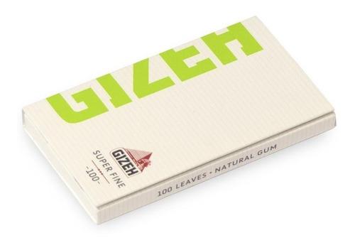 papel sedas gizeh magnet super fine iman cigarrillo verde