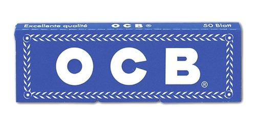 papel sedas ocb blue pack x500 azul 8 para armar cigarrillos