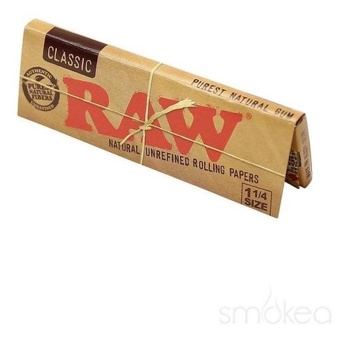 papel sedas raw classic clasico armar cigarrillos librillo
