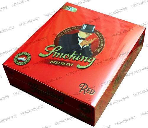 papel smoking red zig zag slow burning liar. envio gratis