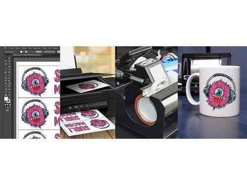 papel sublimación premium objetos rígidos taza a4  disershop