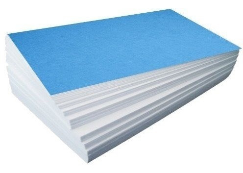 papel sublimatico a4 fundo azul 500 fls havir 110g
