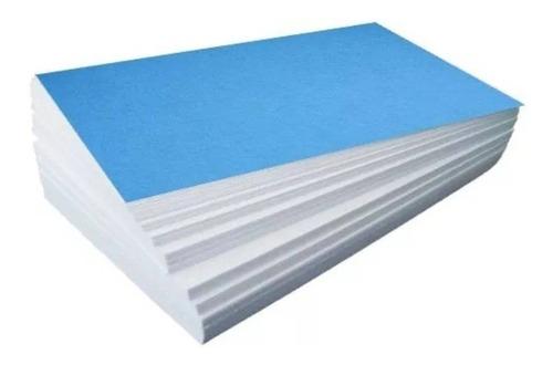 papel sublimatico fundo azul 500 fls a4 + 300 fls a3