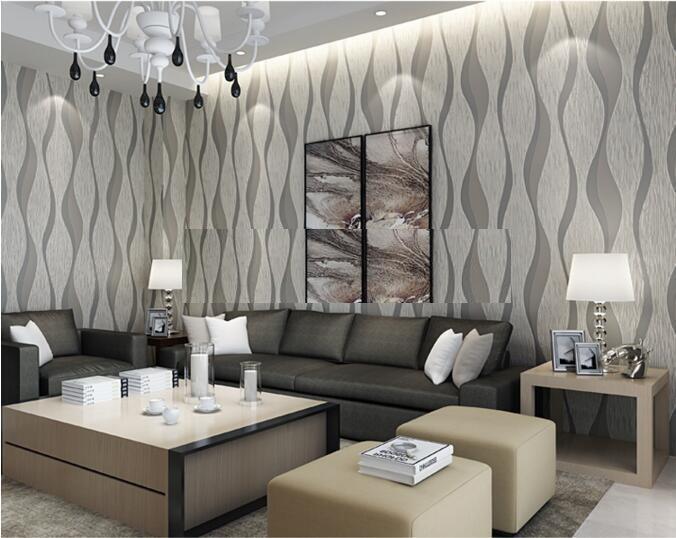 Papel tapiz gris raya gruesa sala comedor for Patron de papel tapiz para sala comedor