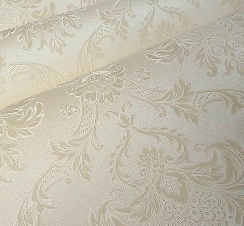 Papel tapiz importado de pvc lavable modelo damasco for Papel pared lavable