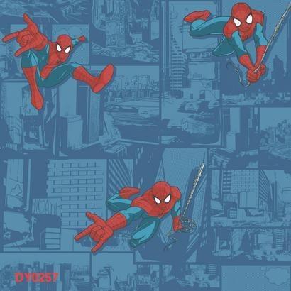 Papel tapiz infantil de spiderman by la silla de leonardo for Papel tapiz infantil