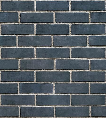 papel tapiz ladrillos azul piedra adhesivo pared